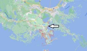 What cities are in Lafourche Parish
