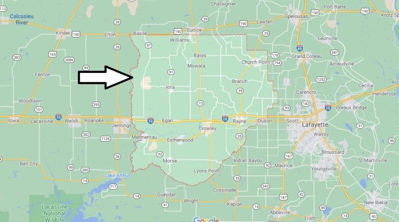 Where is Acadia Parish Louisiana