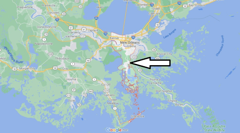Where is Jefferson Parish
