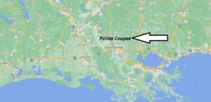 What cities are in Pointe Coupee Parish