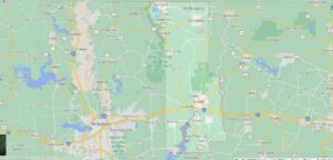 What cities are in Webster Parish