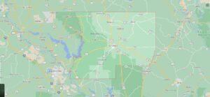 What cities are in Winn Parish