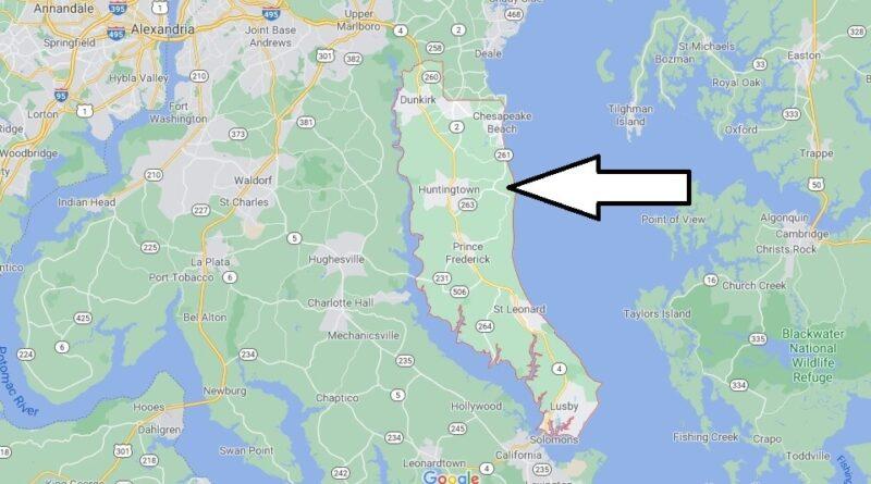 Where is Calvert County Maryland