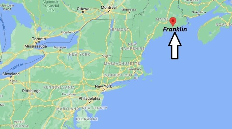 Where is Franklin Maine