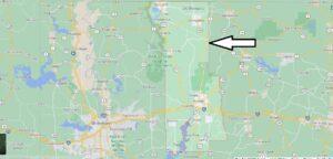 Where is Webster Parish Louisiana