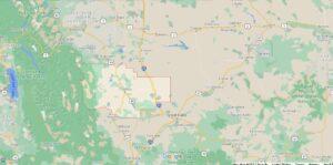 How big is Teton County Montana