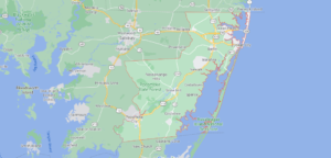 Where in Maryland is Worcester County