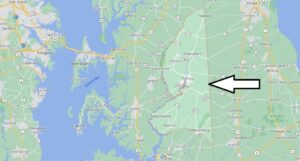 Where is Caroline County Maryland
