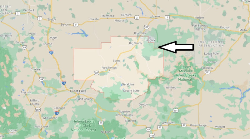 Where is Chouteau County Montana
