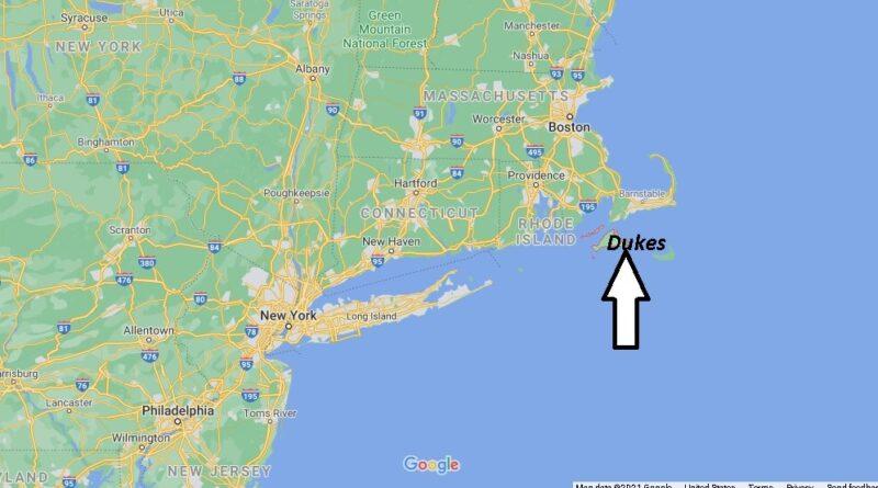 Where is Dukes County Massachusetts