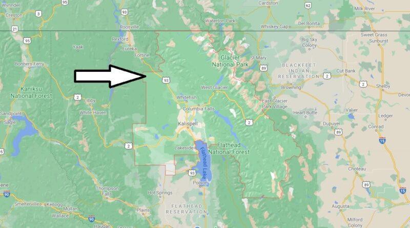 Where is Flathead County Montana