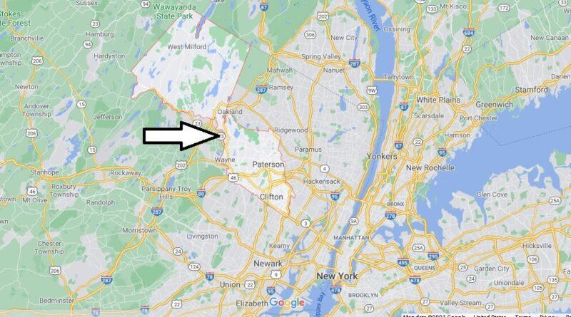 Where is Passaic County New Jersey