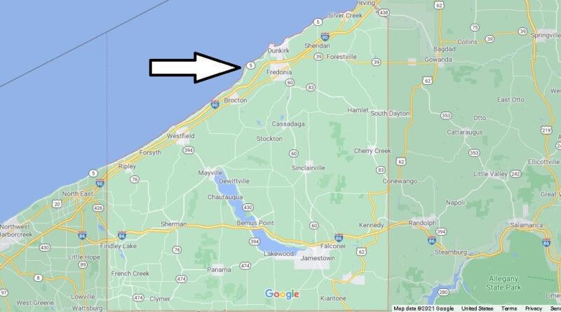 Where is Chautauqua County New York