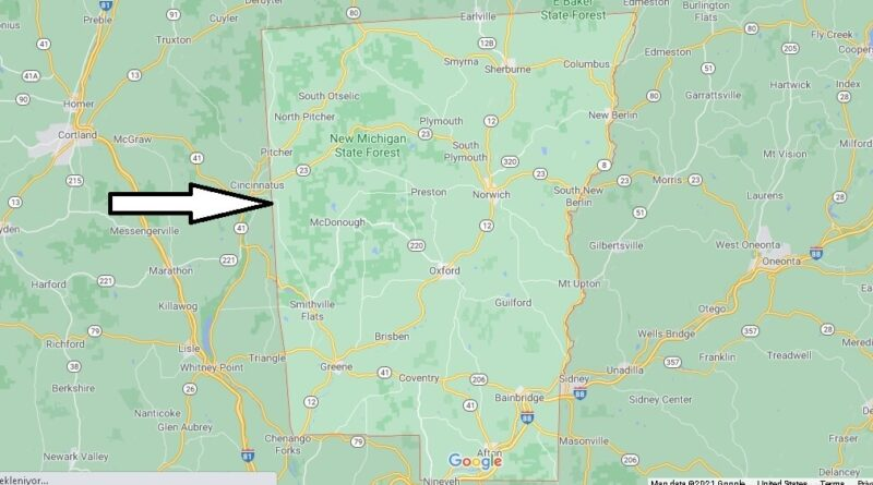 Where is Chenango County New York