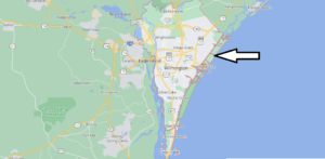 What cities are in New Hanover County