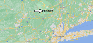 What cities are in Sullivan County