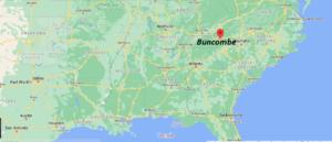 Where is Buncombe County North Carolina