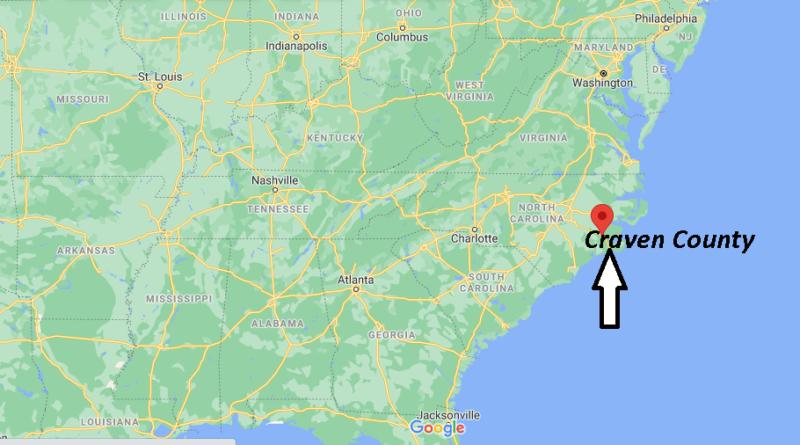 Where is Craven County North Carolina