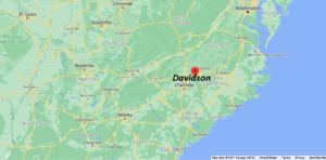 Where is Davidson County North Carolina