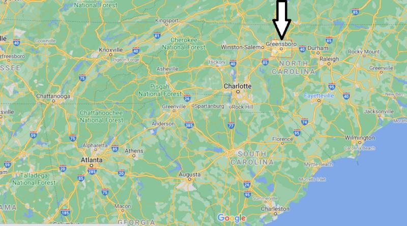 Where is Guilford County North Carolina