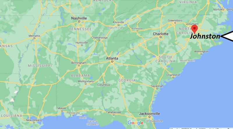 Where is Johnston County North Carolina