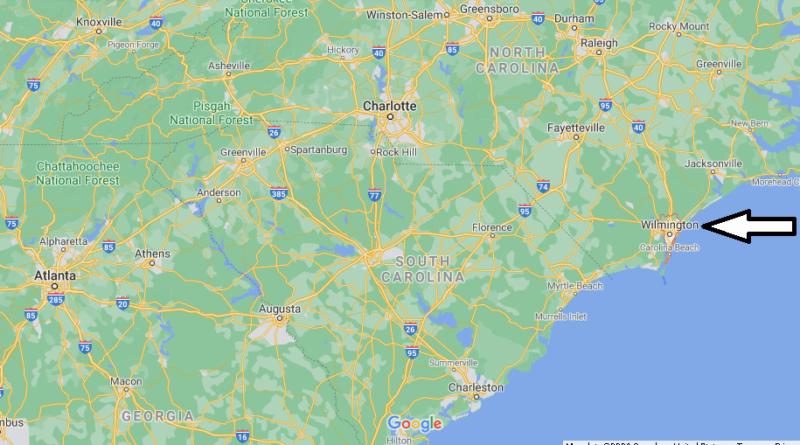 Where is New Hanover County North Carolina