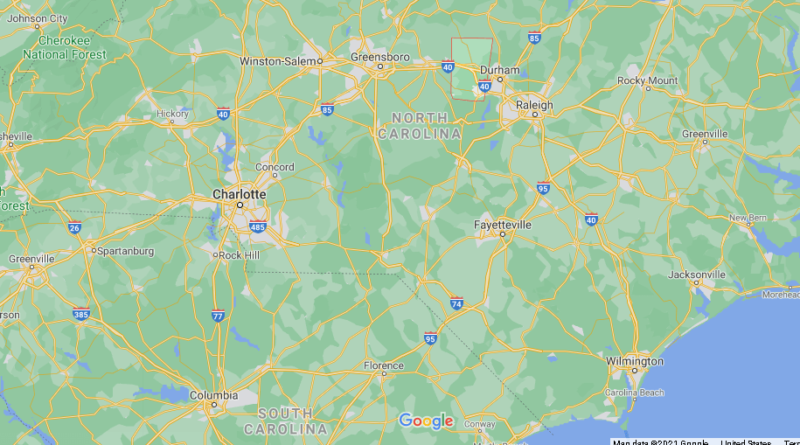 Where is Orange County North Carolina