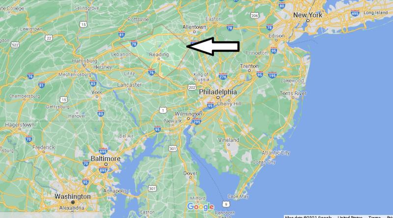 Where is Berks County Pennsylvania