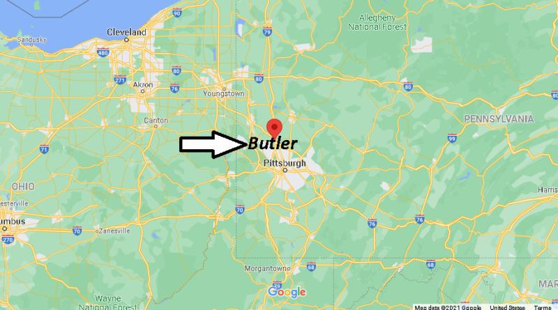 Where is Butler County Pennsylvania