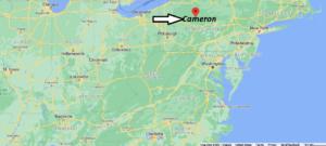 Where is Cameron County Pennsylvania