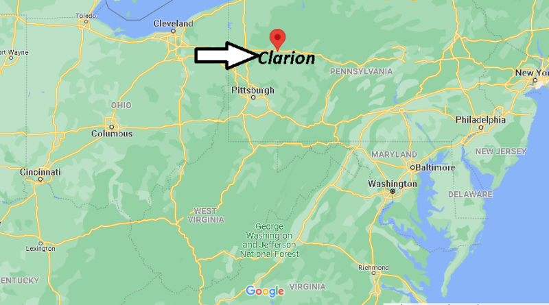 Where is Clarion County Pennsylvania