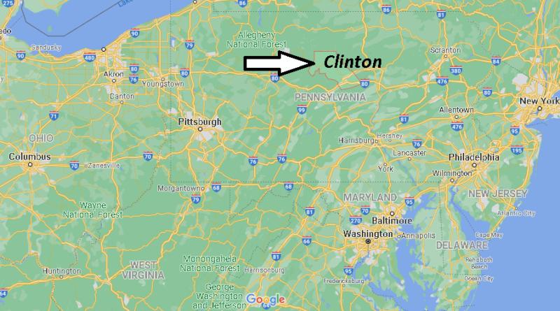 Where is Clinton County Pennsylvania