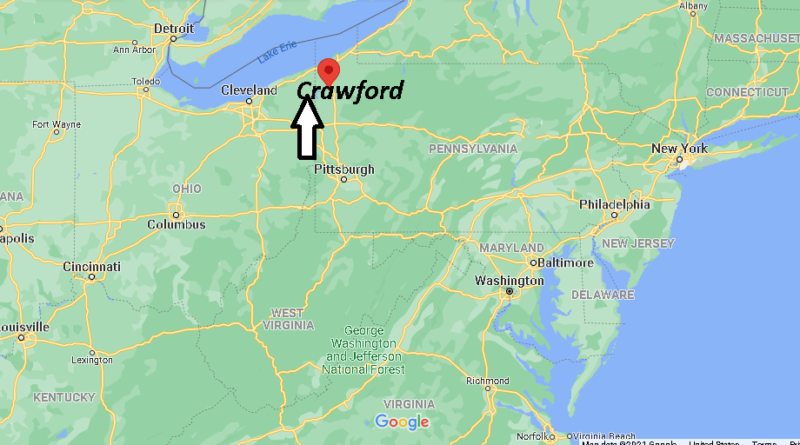 Where is Crawford County Pennsylvania