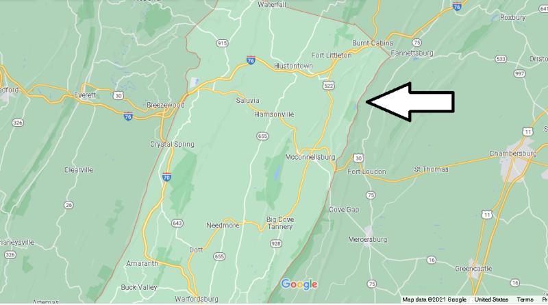 Where is Fulton County Pennsylvania