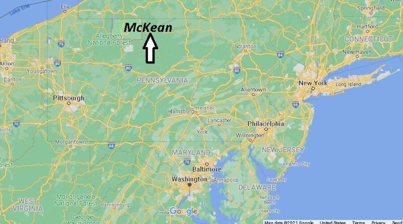 Where is McKean County Pennsylvania