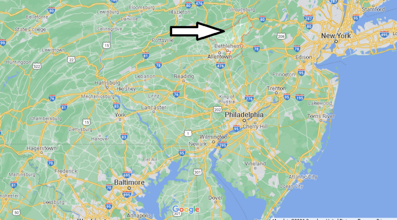 Where is Northampton County Pennsylvania