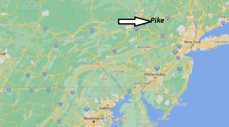 Where is Pike County Pennsylvania