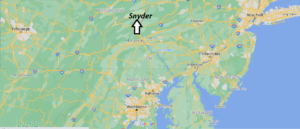Where is Snyder County Pennsylvania