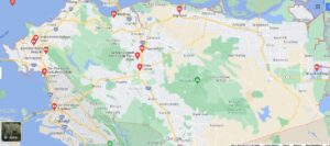 What Cities are in Contra Costa County