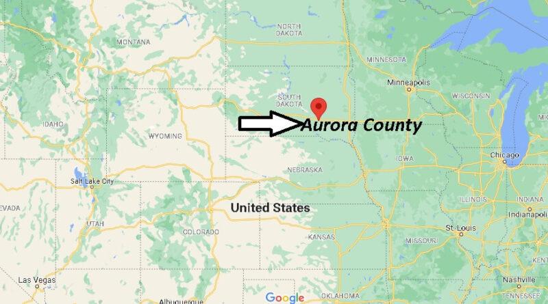 Where is Aurora County South Dakota