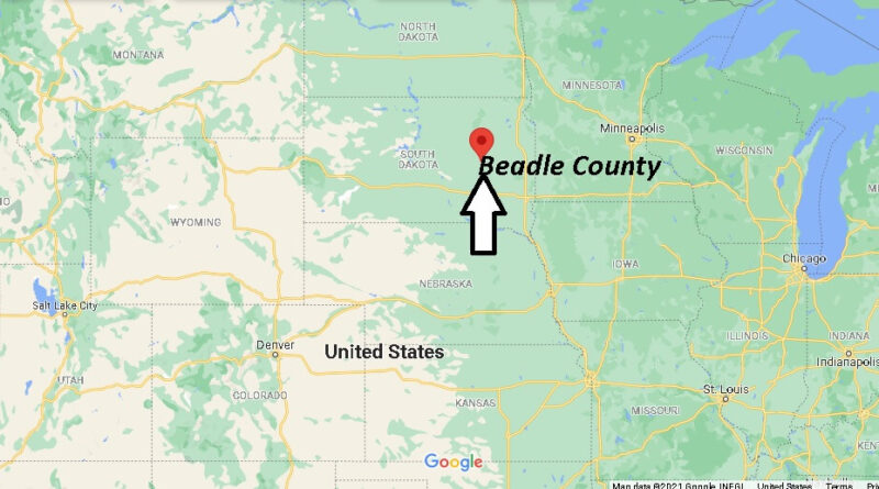 Where is Beadle County South Dakota