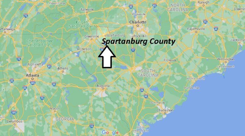 Where is Spartanburg County South Carolina