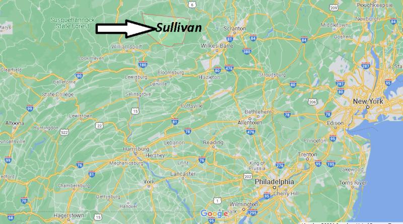 Where is Sullivan County Pennsylvania