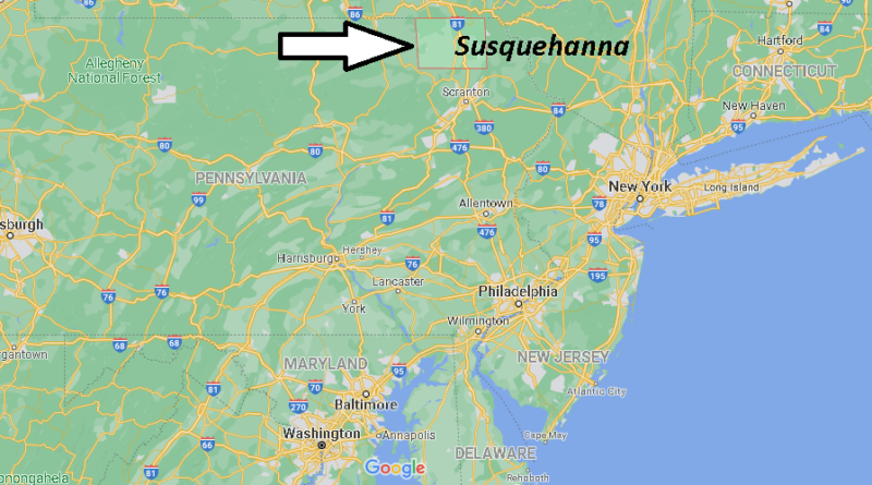 Where is Susquehanna County Pennsylvania