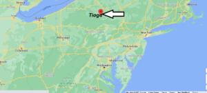 Where is Tioga County Pennsylvania