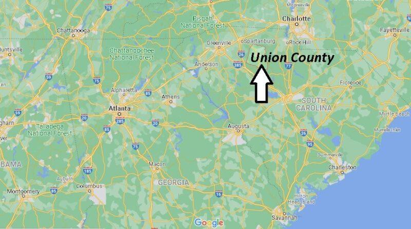 Where is Union County South Carolina