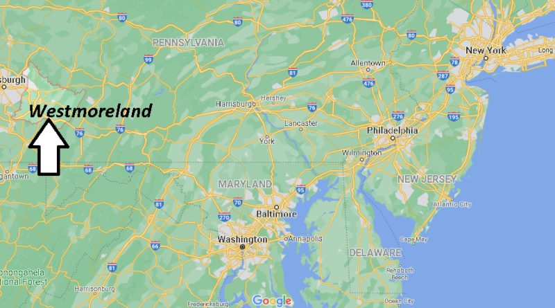 Where is Westmoreland County Pennsylvania