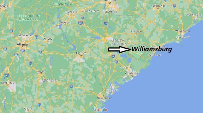 Where is Williamsburg County South Carolina